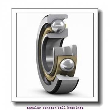 65 mm x 140 mm x 33 mm  NSK QJ313 angular contact ball bearings
