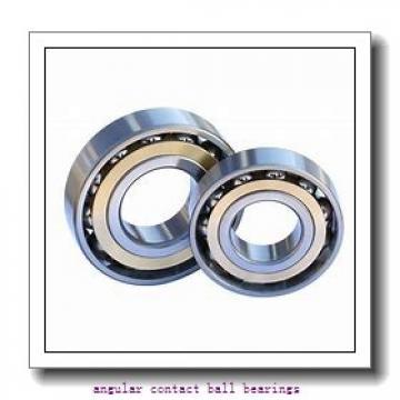 26 mm x 124,8 mm x 61,2 mm  PFI PHU8507 angular contact ball bearings