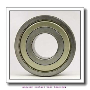 120 mm x 260 mm x 55 mm  Timken 7324WN MBR angular contact ball bearings