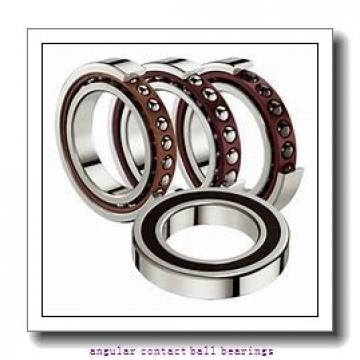 30 mm x 72 mm x 19 mm  NACHI 7306DF angular contact ball bearings