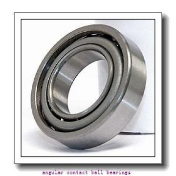 50,8 mm x 101,6 mm x 30,1625 mm  RHP QJL2 angular contact ball bearings