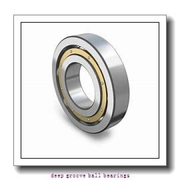 2 mm x 7 mm x 2,8 mm  ISO 602 deep groove ball bearings