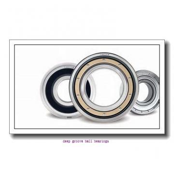 17 mm x 40 mm x 12 mm  SKF 6203-RSL deep groove ball bearings