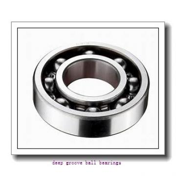 2 mm x 7 mm x 2,5 mm  KOYO ML2007 deep groove ball bearings