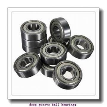 22 mm x 62 mm x 13 mm  NSK 22TM15 deep groove ball bearings
