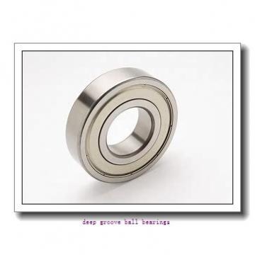 6 mm x 19 mm x 6 mm  SKF W626 deep groove ball bearings