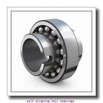 12 mm x 37 mm x 17 mm  NSK 2301 self aligning ball bearings