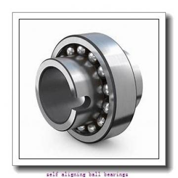 30 mm x 62 mm x 20 mm  ZEN 2206 self aligning ball bearings