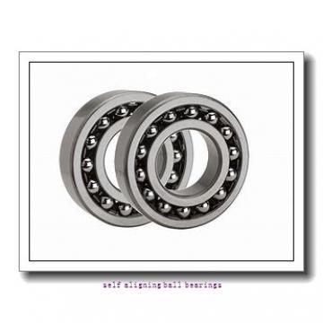 30 mm x 72 mm x 27 mm  ISB 2306 self aligning ball bearings
