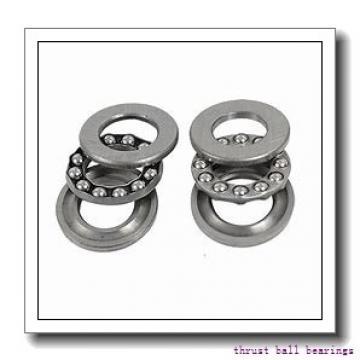 NSK 51118 thrust ball bearings