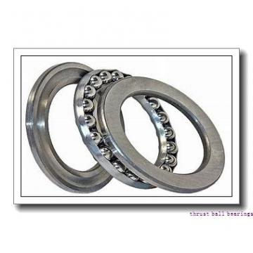 40 mm x 68 mm x 9 mm  NSK 54208U thrust ball bearings