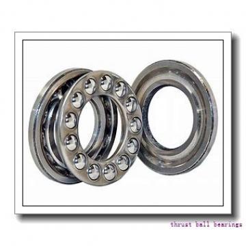 200 mm x 360 mm x 98 mm  SKF NU 2240 ECML thrust ball bearings