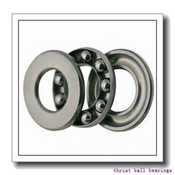 100 mm x 215 mm x 47 mm  SKF NJ 320 ECP thrust ball bearings