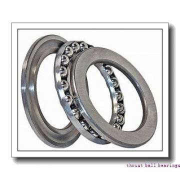 45 mm x 100 mm x 17 mm  NSK 52409 thrust ball bearings