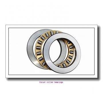 120 mm x 180 mm x 25 mm  IKO CRBC 12025 UU thrust roller bearings