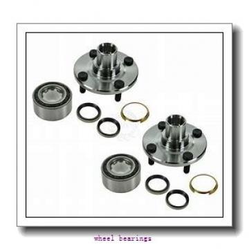 Toyana CX689 wheel bearings
