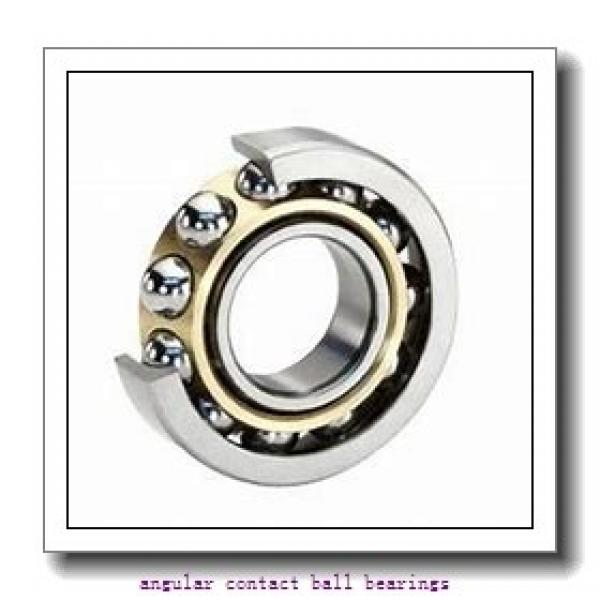 40 mm x 57 mm x 24 mm  NACHI 40BG05S1DS angular contact ball bearings #1 image