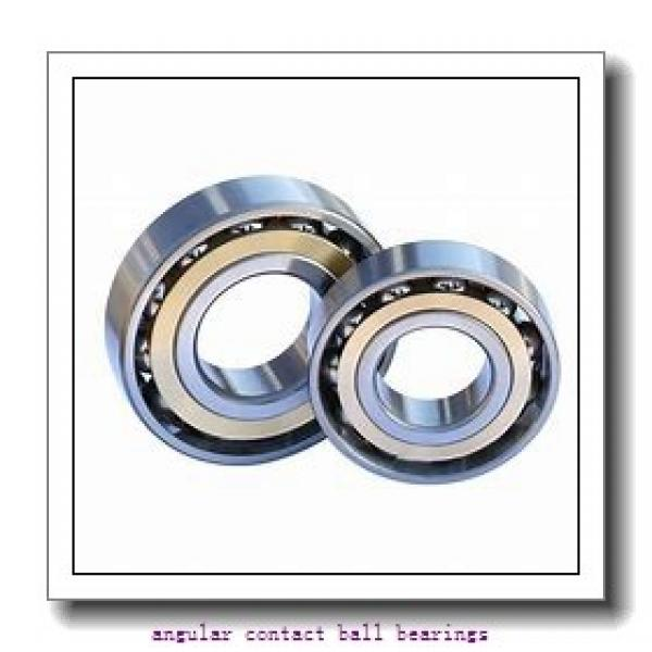 26 mm x 124,8 mm x 61,2 mm  PFI PHU8507 angular contact ball bearings #1 image