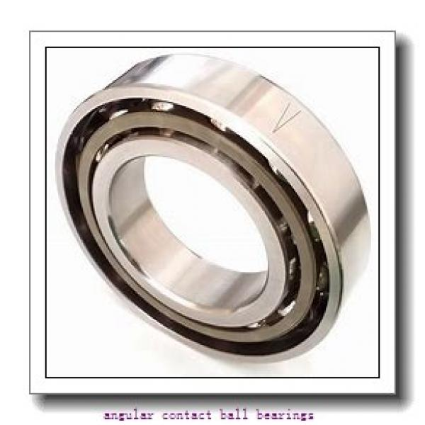 55 mm x 90 mm x 18 mm  NACHI 7011DB angular contact ball bearings #2 image
