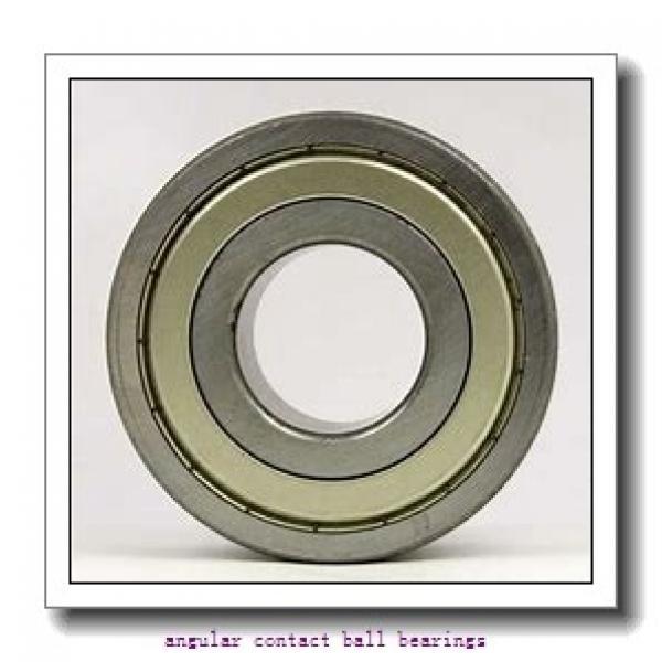 35 mm x 72 mm x 17 mm  NSK 7207 B angular contact ball bearings #1 image