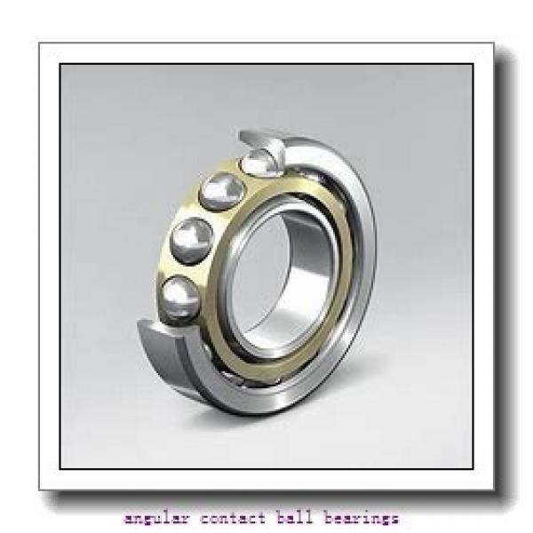 40 mm x 57 mm x 24 mm  NACHI 40BG05S1DS angular contact ball bearings #2 image