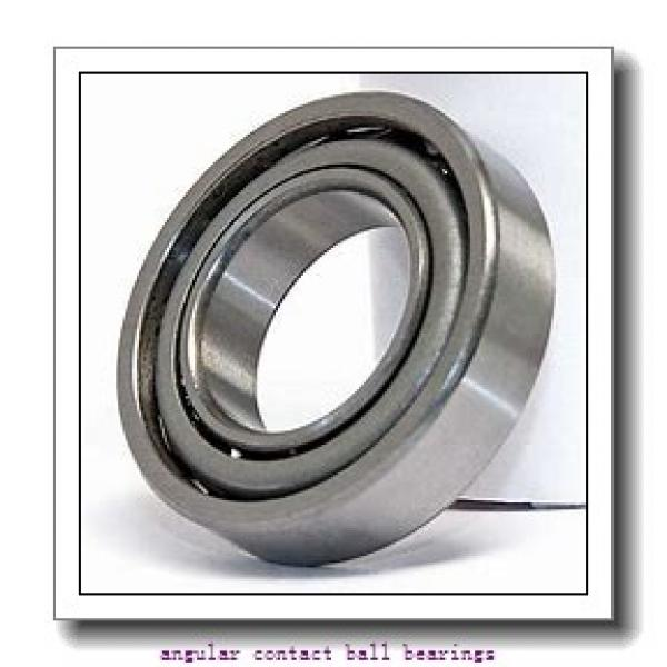 70 mm x 125 mm x 24 mm  FAG B7214-E-T-P4S angular contact ball bearings #1 image