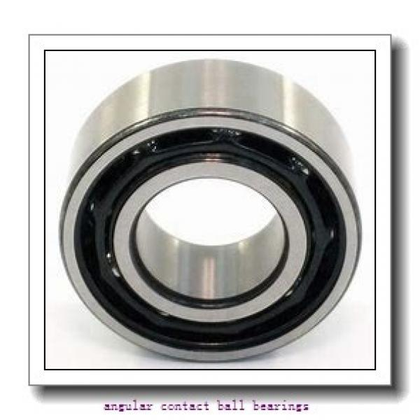 17 mm x 40 mm x 24 mm  SNR 7203CG1DUJ74 angular contact ball bearings #2 image