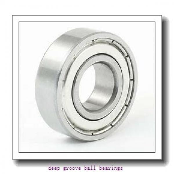 170 mm x 360 mm x 72 mm  NKE 6334-M deep groove ball bearings #2 image