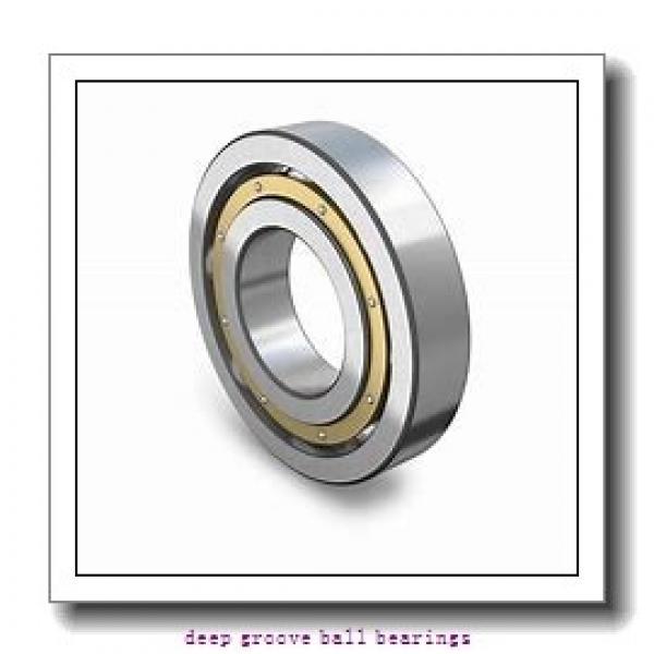 25 mm x 52 mm x 15 mm  KBC 6205 deep groove ball bearings #1 image