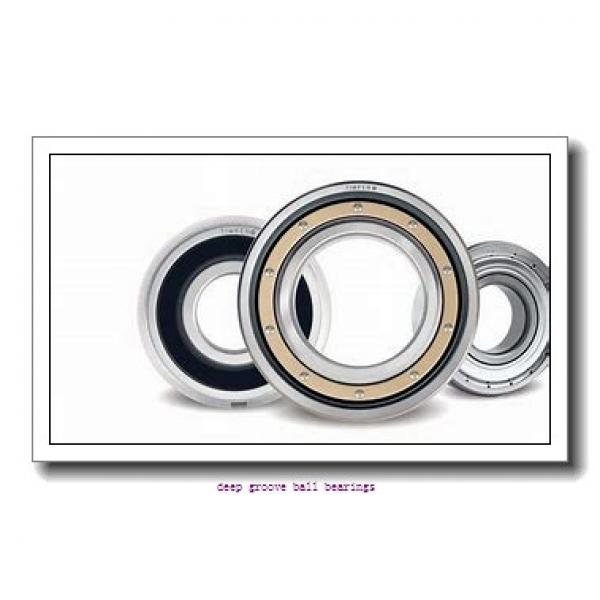 95 mm x 200 mm x 103 mm  ISO UC319 deep groove ball bearings #1 image