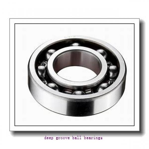 2,5 mm x 5 mm x 1,5 mm  ISO 617/2,5-2RS deep groove ball bearings #1 image