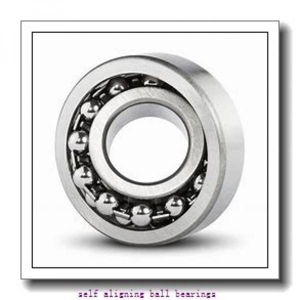 55 mm x 120 mm x 43 mm  NSK 2311 self aligning ball bearings #2 image