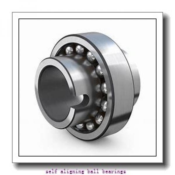 12 mm x 37 mm x 17 mm  NSK 2301 self aligning ball bearings #2 image