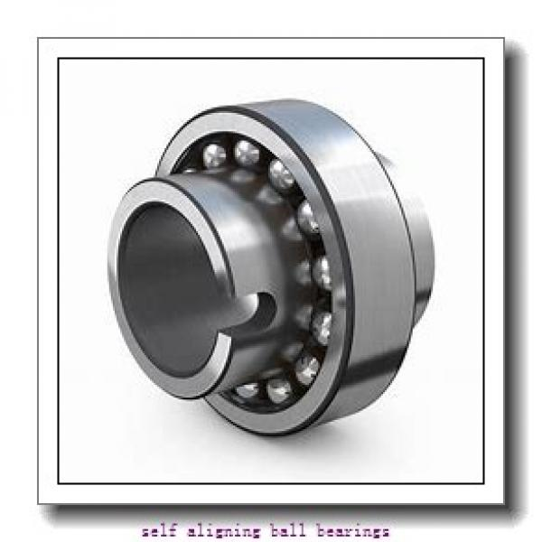 90 mm x 190 mm x 43 mm  ISO 1318 self aligning ball bearings #2 image