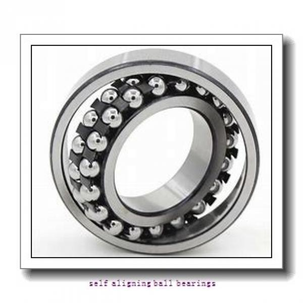 30 mm x 72 mm x 19 mm  NKE 1306 self aligning ball bearings #1 image