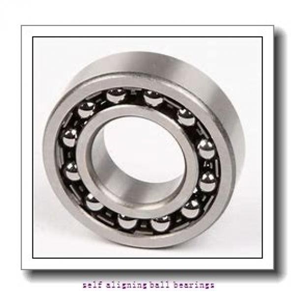 90 mm x 190 mm x 43 mm  ISO 1318K+H318 self aligning ball bearings #1 image