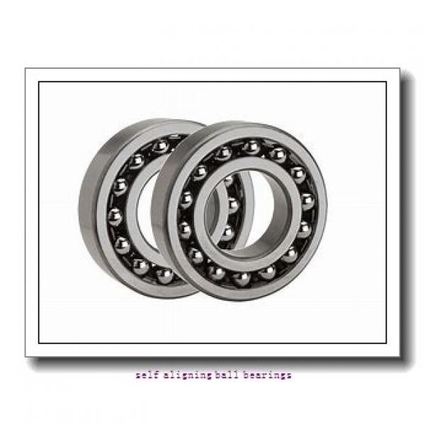 25 mm x 62 mm x 24 mm  NKE 2305-2RS self aligning ball bearings #2 image