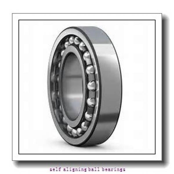25 mm x 52 mm x 15 mm  NTN 1205SK self aligning ball bearings #2 image