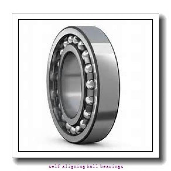 25 mm x 62 mm x 24 mm  NKE 2305 self aligning ball bearings #2 image
