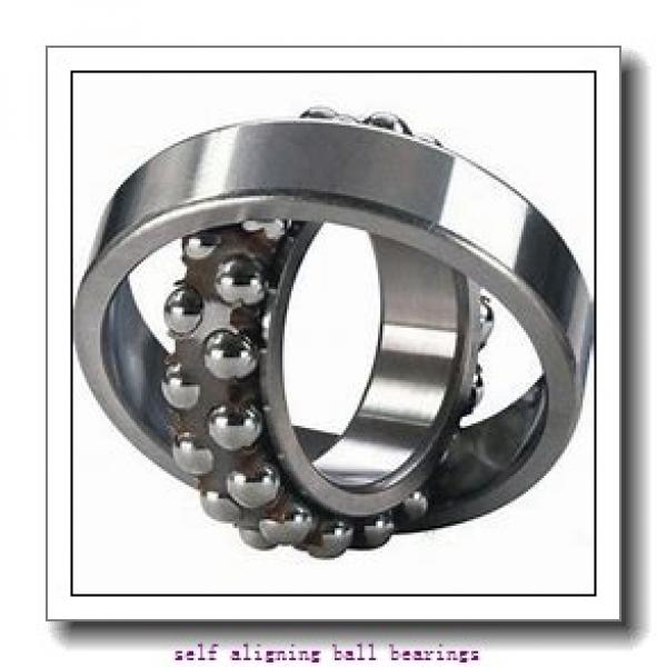 95 mm x 170 mm x 43 mm  NTN 2219SK self aligning ball bearings #2 image