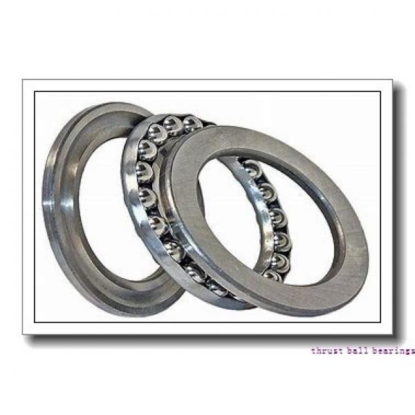 50 mm x 140 mm x 23 mm  NKE 54413-MP thrust ball bearings #2 image