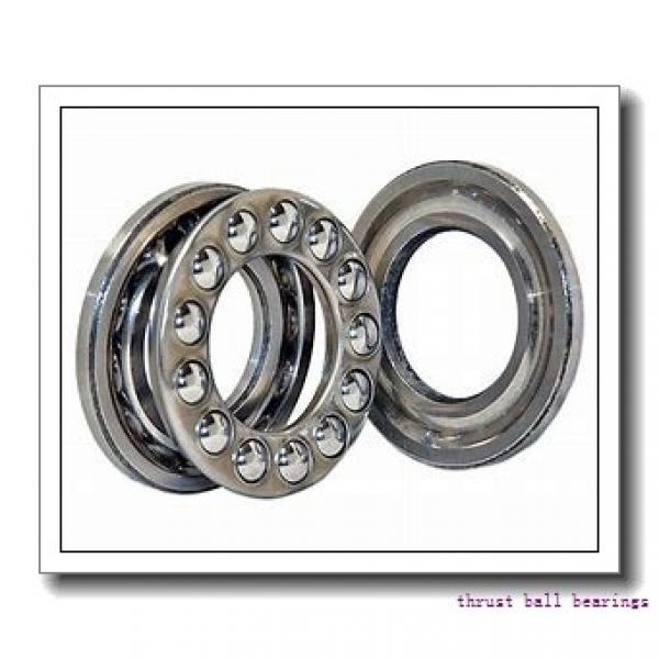 20 mm x 52 mm x 8 mm  FAG 54305 + U305 thrust ball bearings #1 image