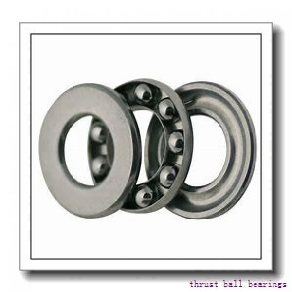 NSK 51310 thrust ball bearings #1 image