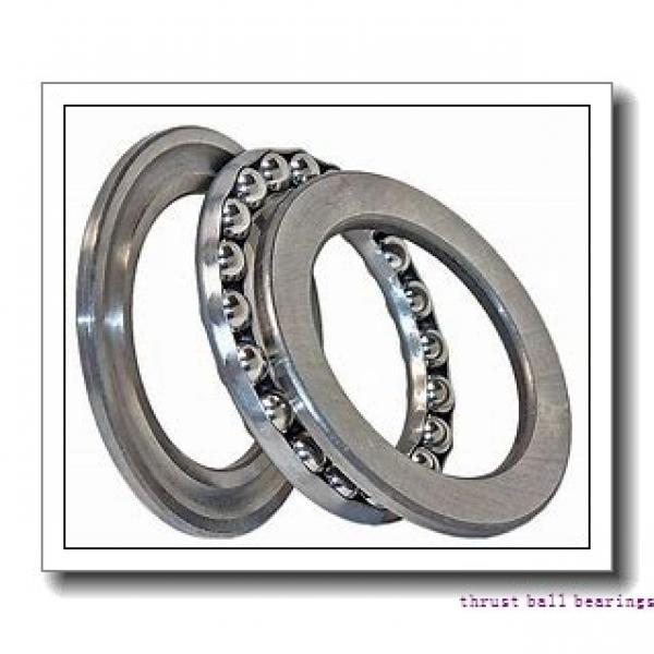 NSK 51118 thrust ball bearings #1 image