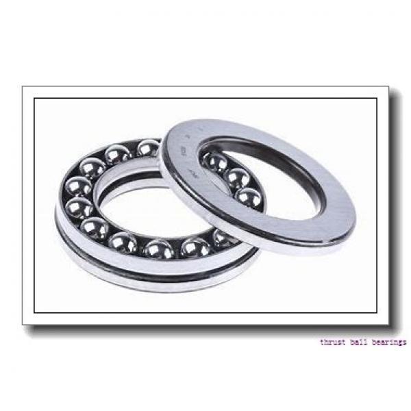 NSK 51310 thrust ball bearings #2 image