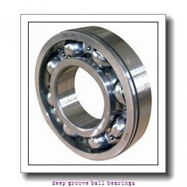 25 mm x 52 mm x 15 mm  KBC 6205 deep groove ball bearings #2 image